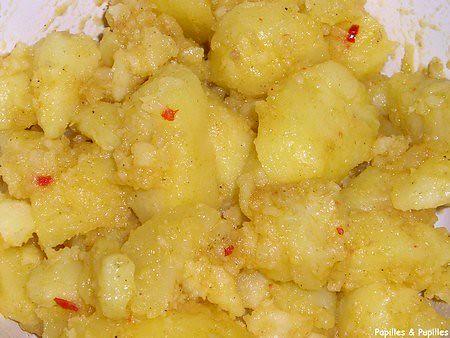 Image Papilles et Pupilles - Salade de pommes de terre à l'orientale