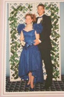 brooke's prom dress