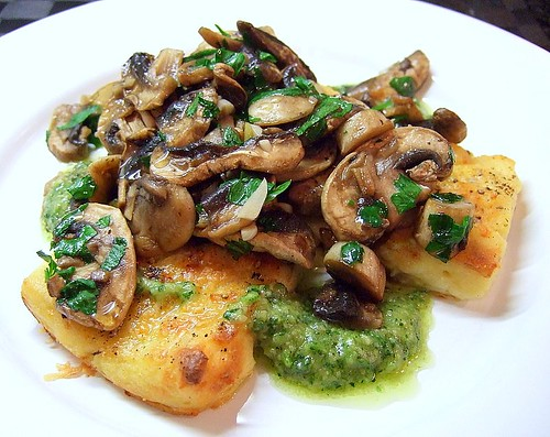 gnocchi with mushrooms 2