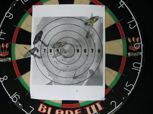 Bush Dart Board Example