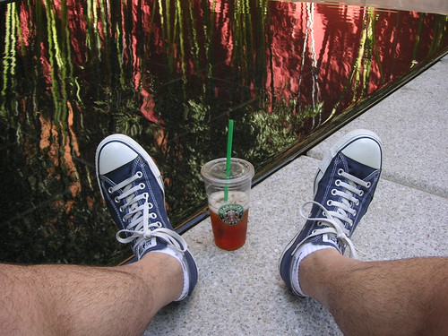 Converse and Iced Tea