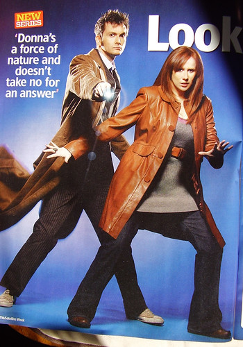 DR WHO PROMO PIC - The Doctor and Donna Noble