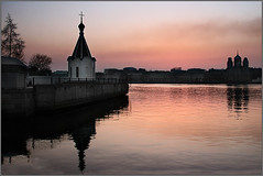 Two coast (dyadyavasya) Tags: street city sky house tree church water architecture river stpetersburg evening spring russia centre religion belief quay dome granite rest ripples decline channel orthodoxy                     5photosaday     diamondclassphotographer flickrdiamond