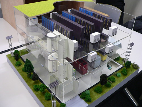 Hitachi Green Data Center Model