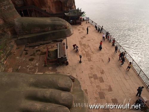 Leshan Giant Buddha Feet