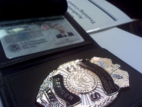 Now I'm a Federal Officer
