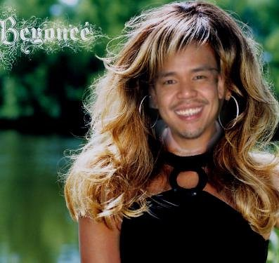 It's quite simple and cut and dry…look at me with Beyonce's locks:
