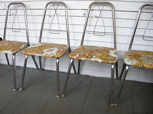 vintage kiddy chairs