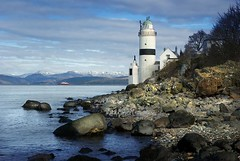 Cloch Lighthouse (gms) Tags: lighthouse ferry coast scotland clyde seashore gourock firth inverclyde cloch