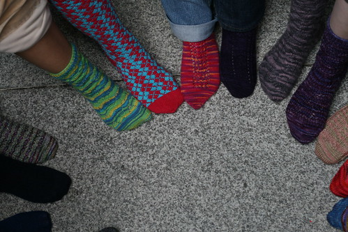 sock circle (by mintyfreshflavor)
