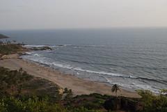anjuna beach (pallav moitra) Tags: beach fort goa panjim baghator