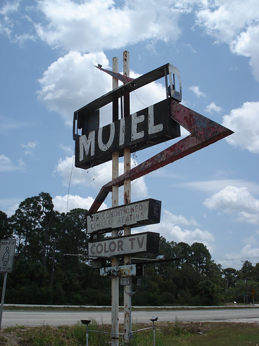 Old Motel Sign - Mims, Florida