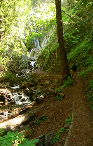 Walking up to Limekiln Falls