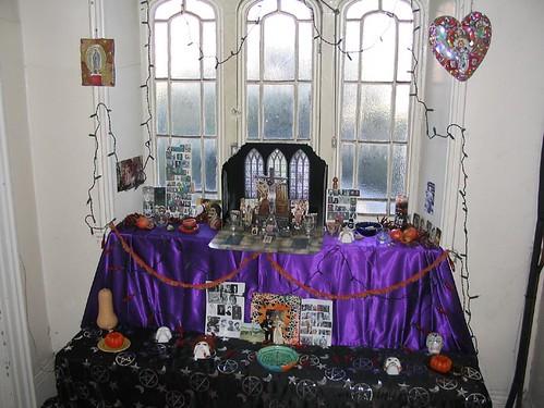 2005 Halloween altar