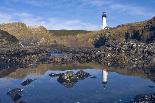 Yaquina Head Lighthouse & Tidepools