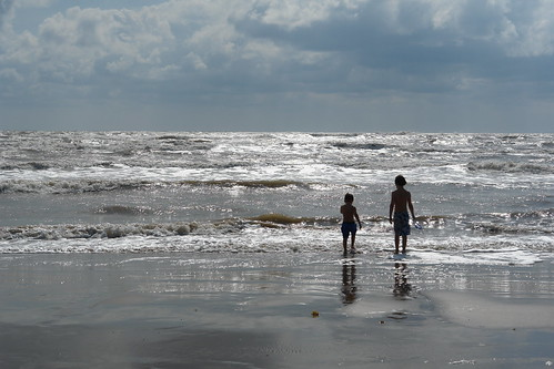 Two Small Boys, One Big Ocean