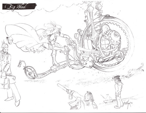 Sketchbook - BIG WHEEL by broken toys