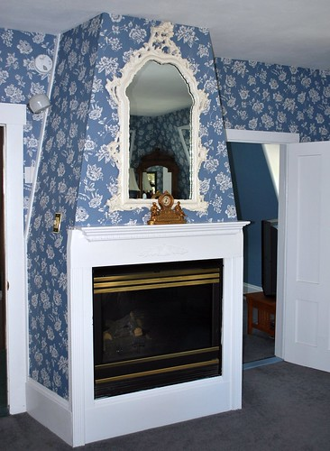 Fireplace in the Princess Victoria Suite