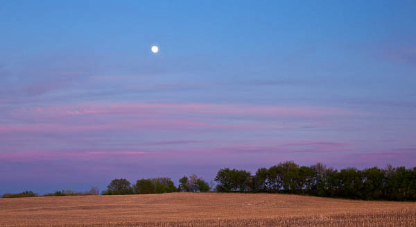 Full Moon over Wisconsin Field