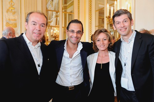 Christophe Ginisty, Arash Derambarsh, Myriam L'Aouffir, Eric Maillard (Ministère de la culture lors du e-G8) by Arash Derambarsh