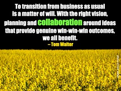 we all benefit from collaboration
