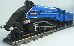 A4 Pacific..Destination arrival. (bricktrix) Tags: train lego pacific railway class steam a4