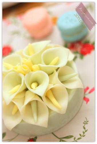 天使媽媽蛋糕皂教學 042
