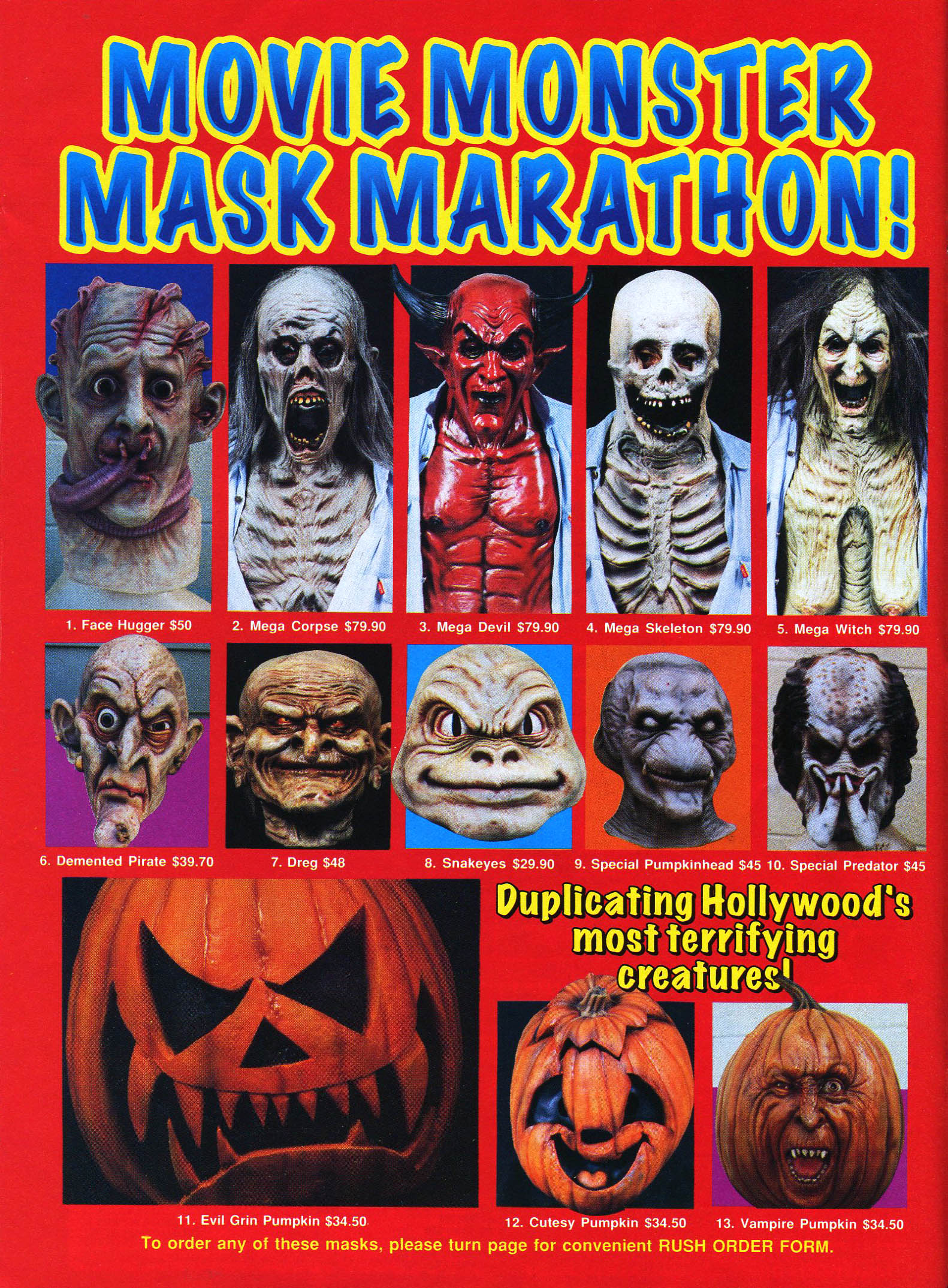 Halloween Masks | Branded in the 80s
