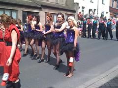 Corset girls (Elysia in Wonderland) Tags: carnival dance dancers purple parade collection dalton tap burlesque bustle tutus corsets daltoninfurness