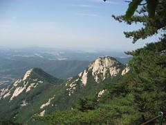 Bukhansan view