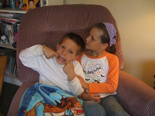 Jack & Elena--funny pose