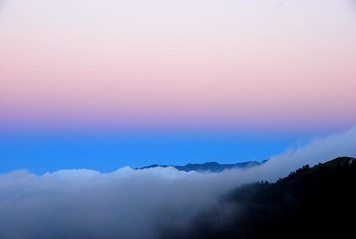 日落時的神奇色彩