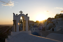 Sunset (Carlo_it) Tags: sunset sea color island santorini greece ia carlo oia cyclades thira arioli
