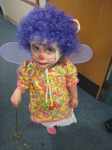 halloween mouse fairy clown