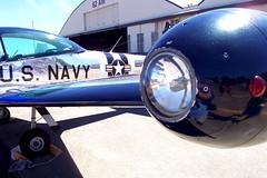 NAvion port wing (MSHennessy) Tags: usnavy tacomawa navalaviation armyaircorps northamericanaviation mcchordafb mcchordairforcebase ryanaeronautical l17navion