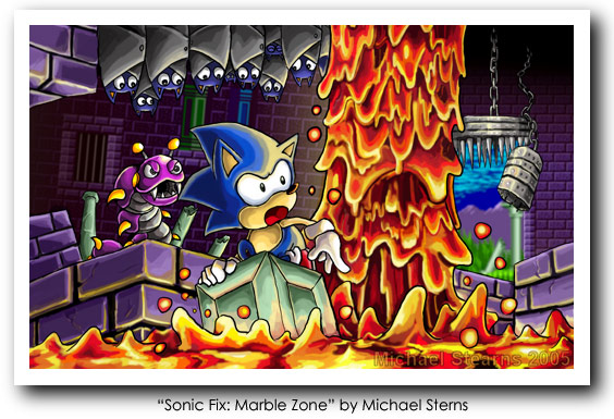Sonic Fix: Marble Zone by Michael Sterns