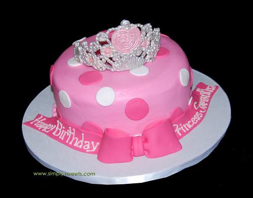 Princess Samantha tiara cake