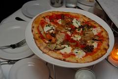mushroom piza