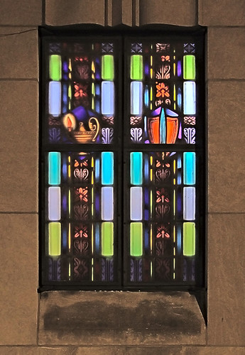 Saint Mary Magdalen Roman Catholic Church, in Saint Louis, Missouri, USA - window.jpg