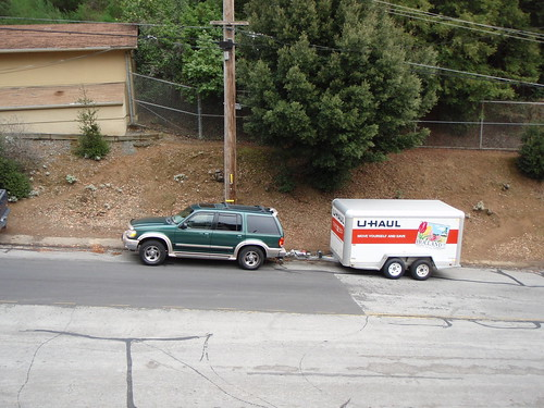 Uhaul and ford explorers