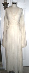 naturally cream waist visible (panache*) Tags: green vintage forsale thrift recyled