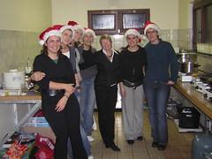 OCMW personeel hielp de kerstman