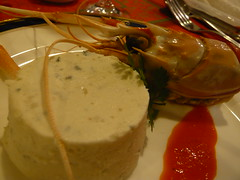 スカンピとゴルゴンゾーラドルチェのパテ