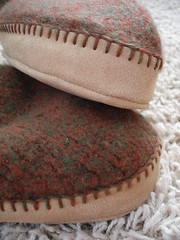 Blanket Stitched Soles