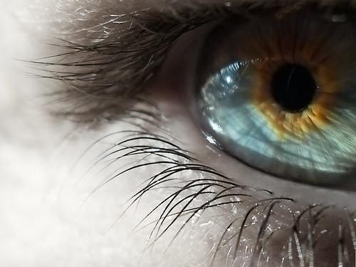 típica foto de ojo