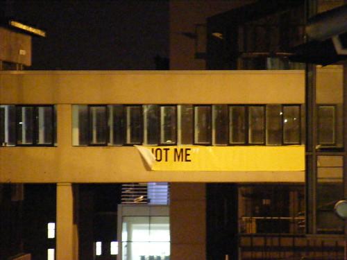 Not me en los edificios