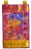 Shisha (Karen Cattoire) Tags: original abstract art handmade embroidery originalart creation fabric fiberart beading bjp tissu abstrait arttextile textiledart karencattoire fibretextile arttexilte