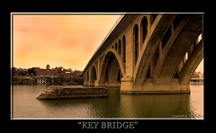 key bridge (brents pix) Tags: d50 virginia dc washington nikon pix brent handheld dcist hdr keybridge brents 3xp photomatix brentspix