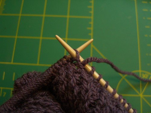 Purple pullover WIP