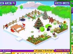 webkinz garden under snow title=